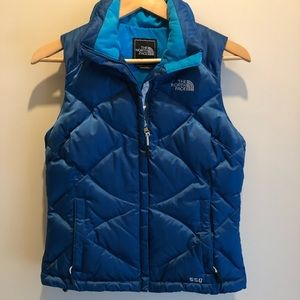 The North Face Wmns 550 Down Fill Vest Coat XS